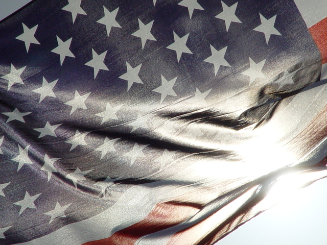 US Flag Image - Cal Vet.ca.gov website